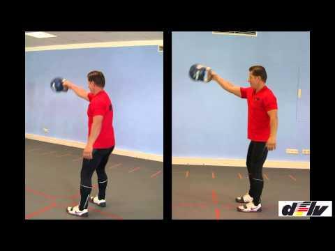 Fitness durch Functional Practising: Kettlebell Umsetzen, mit Mike Branke, dflv