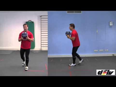 Fitness durch Realistic Training: Kettlebell Grundübungen, mit Michael Branke von der dflv