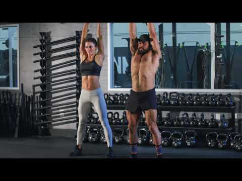 Tri 'N Bi Kettlebell Exercise with Primal Swoledier & Jena Mays   Onnit Academy   Kettlebell Circulation