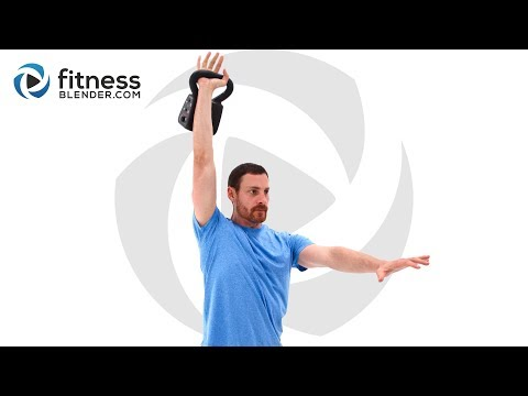 forty five Minute Total Body Kettlebell Workout – Relaxing and Sophisticated Kettlebell Routine