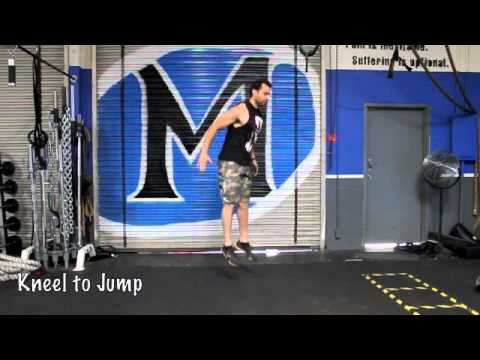 Explosive Strength Mumble with Kettlebell and Body weight