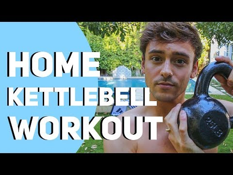 Dwelling Kettlebell Exercise *10 Minutes* I Tom Daley