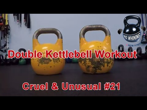 Double Kettlebell Issue. Cruel and Provocative #21.