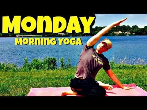 Monday – Morning Dawn Yoga Routine – 7 Day Yoga Sing of affairs #7dayyogachallenge #sunriseyoga