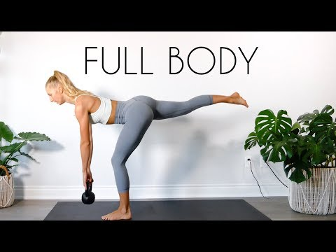 15 MIN FULL BODY Kettlebell Workout (At Residence Workout)