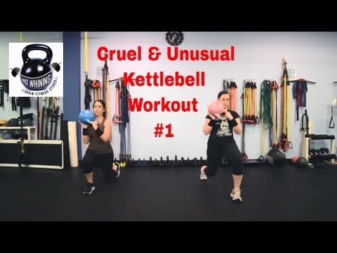 Kettlebell Workout: Cruel and Routine  #1