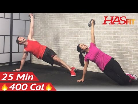 25 Min Kettlebell Convey – Kettlebell Workout routines for Fats Loss & Strength Coaching Workout routines Men Females