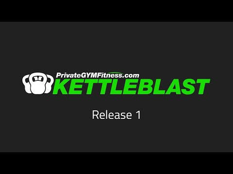 KETTLEBLAST Launch 1 – (Week 11, day 1)  | 💚 PrivateGYMfitness.com (Kettlebell workout class)