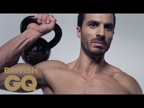 Core Exercise: Kettlebell Swing Exercise Routine for Newbies | Fitness | BritishGQ