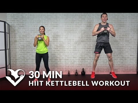30 Minute HIIT Kettlebell Workout routines for Elephantine Loss & Energy – 30 Min Kettlebell Workout Cardio