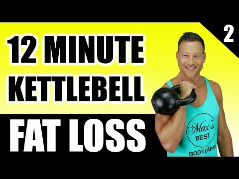 ULTIMATE KETTLEBELL WORKOUT FOR FAT LOSS | 12 Minute Chunky Burning Kettlebell Workout Routine 2