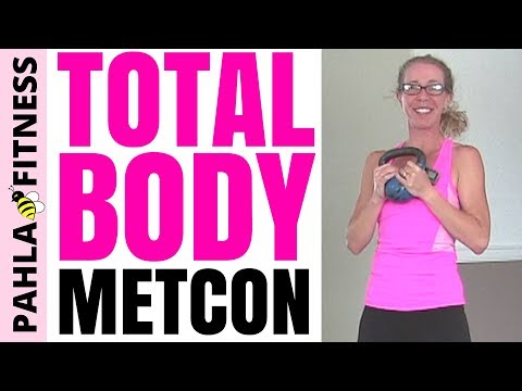 30 Minute KETTLEBELL METCON | Fleshy Burning CARDIO + Firming STRENGTH Routine for TOTAL BODY Health