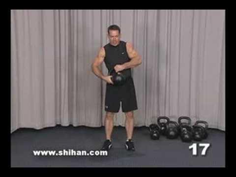 Steve Cotter Kettlebell Leg Practicing Weighted Pistol