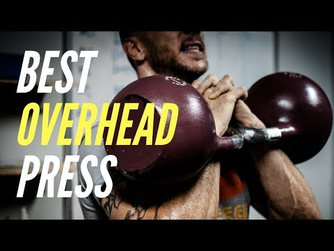 How To Overhead Press with Kettlebells | Suggestions Pump