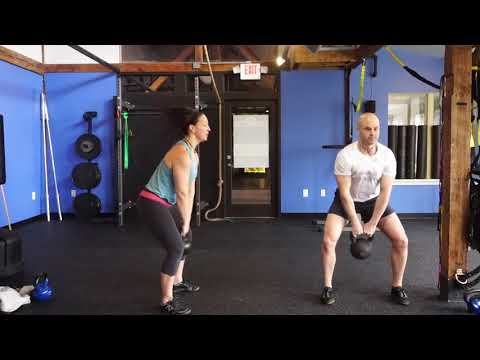 [HIPS – Strength] Russian Kettlebell Swing