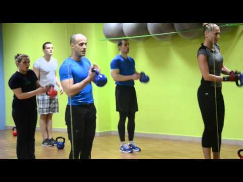 "FITNESS & AEROBIC STUDIO ""LIFE"" – KETTLEBELL WORKOUT"