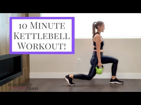 10 Minute Kettlebell Issue – Dwelling Issue with Weights