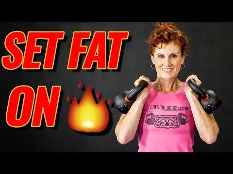 5 BEST Kettlebell Exercises for FAT LOSS