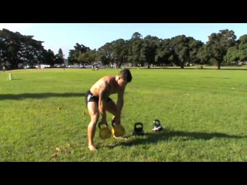 Full Shredding HIT Exercise with Kettlebells – Kris Cochrane