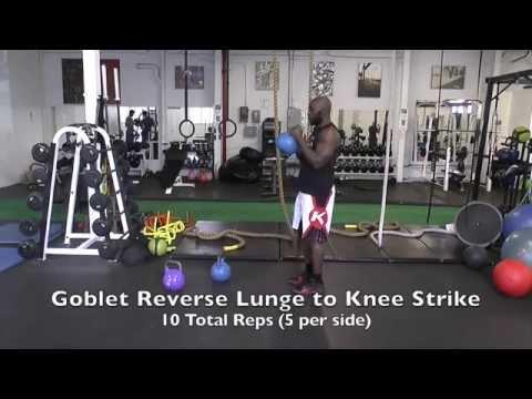 Kettlebell Workout for Muay Thai