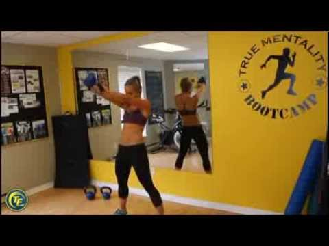 8 unbelievable Kettlebell workout routines! Kasia Sitarz exhibits you  exercise a kettlebell to shed the weight!