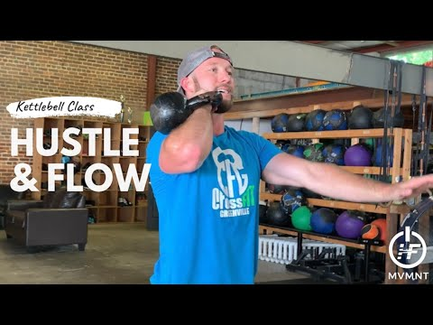 Hustle & Hurry #2: Kettlebell Strength (21 mins)