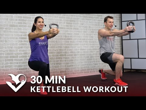 30 Minute Kettlebell Workout – HIIT Kettlebell Workout routines for Fat Loss & Strength Coaching Men & Girls