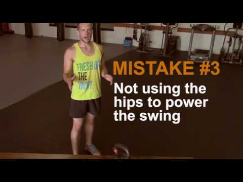 5 Most Overall Kettlebell Swing Errors (and  Repair Them)