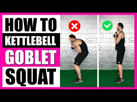 HOW TO GOBLET SQUAT (With Kettlebell) | 5 Guidelines To Grasp Kettlebell Goblet Squats