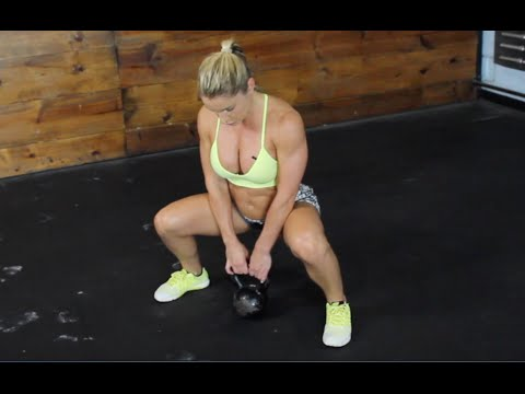 Lean Physique Exercise | Kettlebell Workout routines | Sarah Grace Fitness