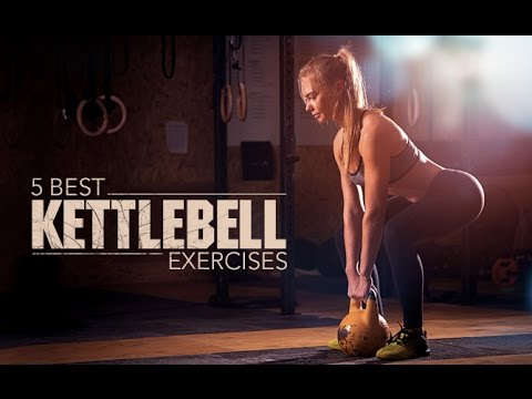 5 Most efficient Kettlebell Workout routines (HITS ENTIRE UPPER BODY!!)