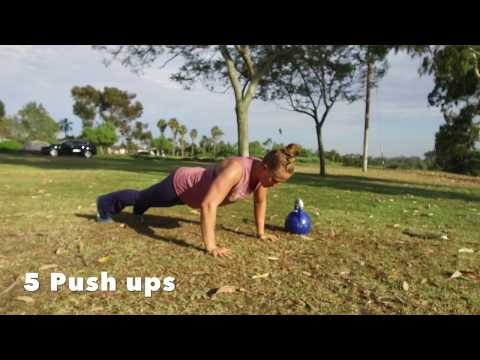 Outside Kettlebell Workout