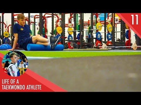 LOSING WEIGHT & A TRIP TO KETTLEBELL KITCHEN | LIFE OF A TAEKWONDO ATHLETE | VLOG 11