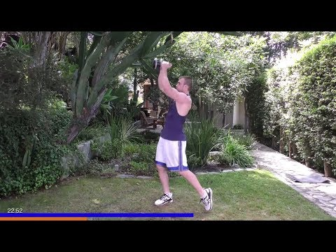 HIIT Kettlebell Workout – Workout to Originate Lean Muscle