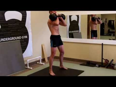 Sergei's Kettlebell Workout Routine for Legs Intermediate/Developed Health