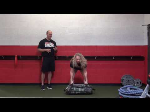 How Kettlebell & Closing Sandbag Practicing Cleans Relief Functional Fitness