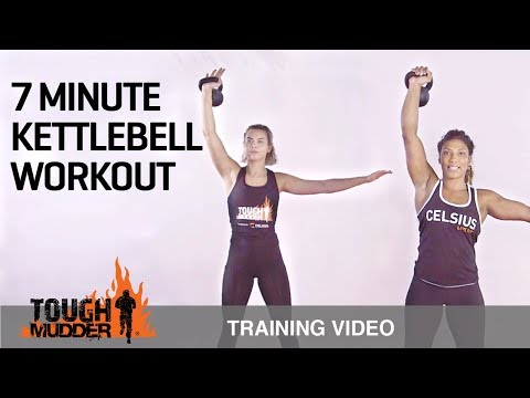 7 Min Beefy Body Kettlebell Workout for Power Coaching & Cardio | Great Mudder