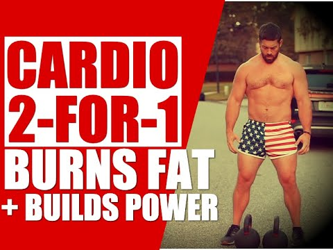 """Total Physique Kettlebell """"Energy Cardio"""" [Burns Fat & Builds Strength!] 