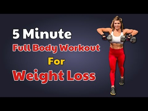 5 Minute Chubby Body Workout For Weight Loss – Karina Rabin