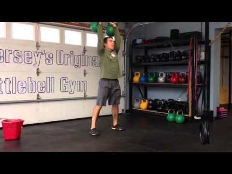 Double Kettlebell Complex for Paunchy Loss