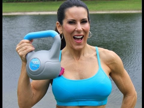 Kettlebell Abs 15 Minute Say with Laura London