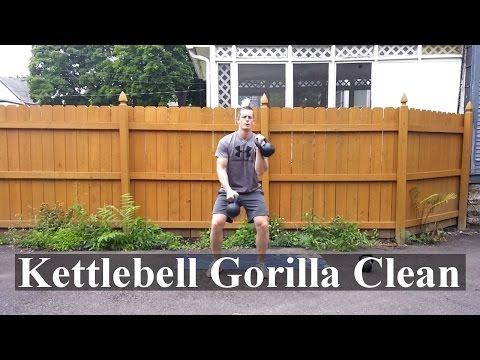 : Kettlebell Gorilla Smooth