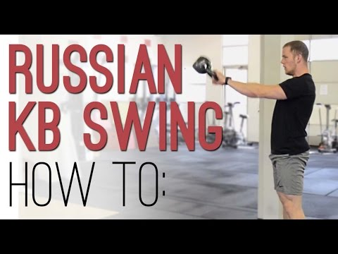 KETTLEBELL SWING approach: The helpful way to form Russian KB Swings – demonstration with ethical make