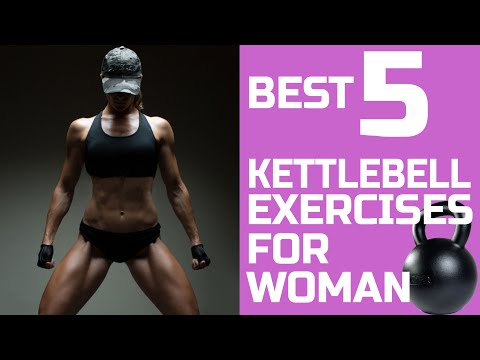 Easiest 5 Kettlebell Workout routines for Girl