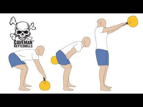 The manner to Kettlebell Swing (in miniature print) ✔ By CrossFit Stage 1 Coach