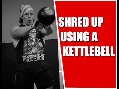 High Intensity Kettlebell Circuit for Stout Loss