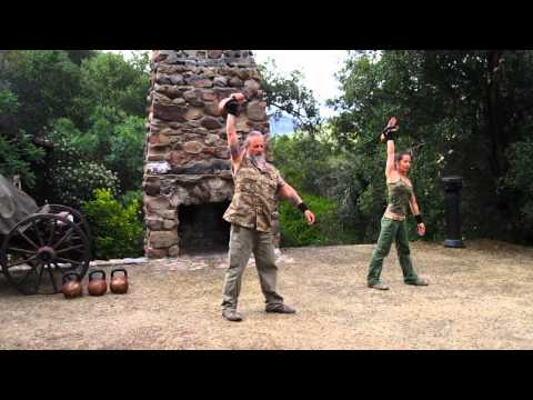 Kettlebell Duo 15 minute Patience Complex featuring Zenkahuna and CoachTara