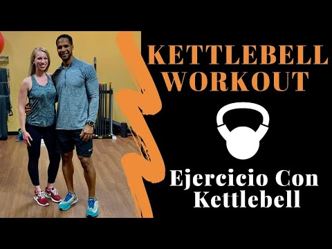KETTLEBELL WORKOUT//FULL BODY HIIT