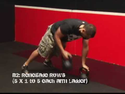 Kettlebell Energy & Conditioning Ladder Workout