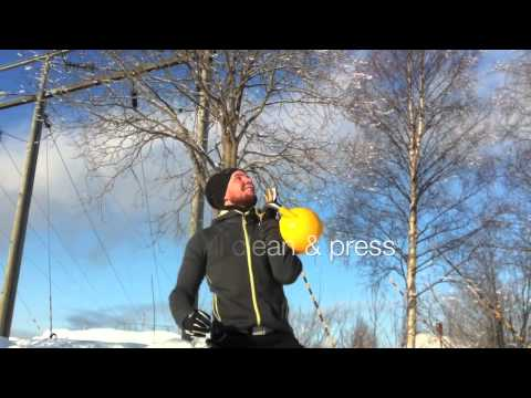 Start air kettlebell exercise – 28 Celsius + Bonus # 2